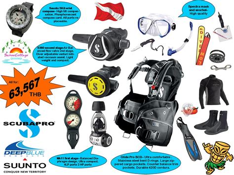 Dive Equipment Dive Instructor Development Course Idc Koh Tao