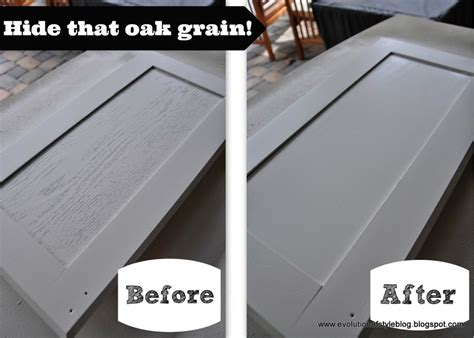 Restaining Oak Cabinets Before And After by Say Goodbye To Oak Grain Evolution Of Style