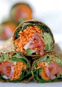 Raw Vegan Wraps Recipes