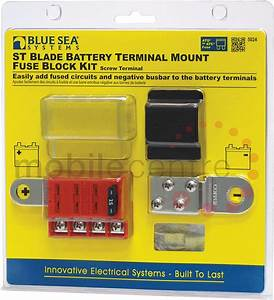Blue Sea St 5024 Battery Terminal Mount Four Way Fuse