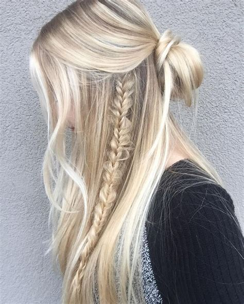 trendy edgy  easy hairstyles  straight hair   real head turners