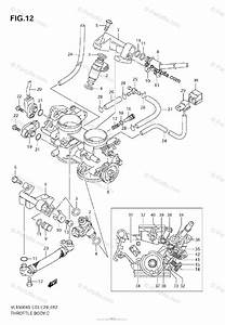 Suzuki Motorcycle 2005 Oem Parts Diagram For Throttle Body