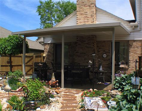 Patio Covers by Patio Cover Kits Solid Roof Patio Covers