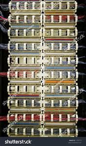 110 Blocks  Punchdown Rack  For Telephone Wiring Stock