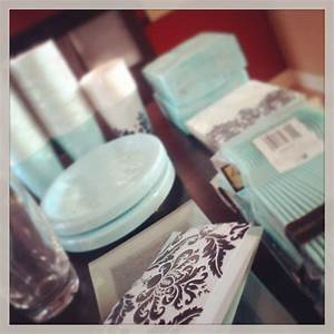 Tiffany blue party supplies Home, House and Decor