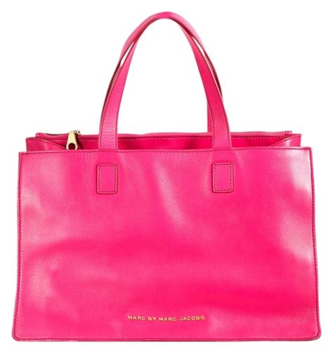 marc by marc pink leather tote from