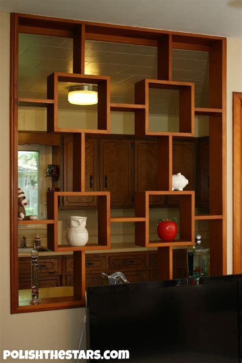 kitchen divider design fascinating half wall room divider for interior design 1559