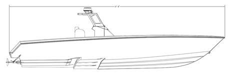 Boat Hull Steps by If You Could Build Out A 52 Stepped Hull The