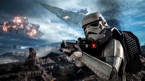 star wars gameplay battle  hoth battlefront stormtrooper