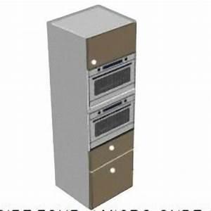 Colonne fourmicro ondes 1porte et 2 tiroirs meubles de for Colonne de cuisine pour four et micro onde