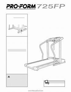 Proform 725 Fp Treadmill