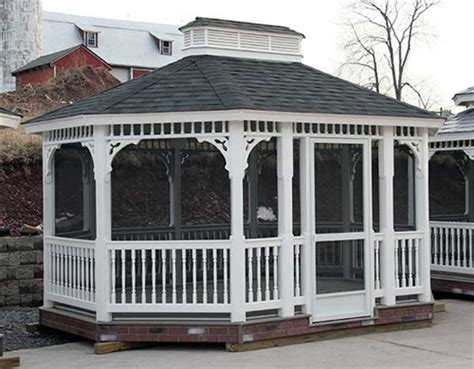 vinyl gazebo kits 10x20 vinyl gazebo kit diy gazebo kits at alan s factory 3277