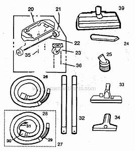 Oreck Im90 Parts List And Diagram   Ereplacementparts Com