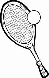 Tennis Coloring Court Racket Drawing Pages Colouring Getdrawings Printable Getcolorings sketch template
