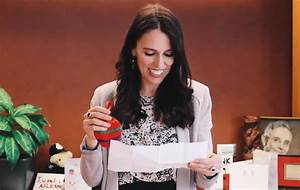 New Zealand's PM received her secret Santa gift and it was ...