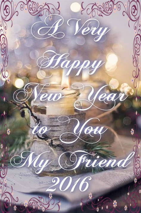 Happy New Year My Friend Pictures, Photos, And Images For Facebook, Tumblr, Pinterest, And Twitter