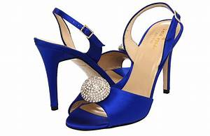 Midnight Blue Satin Wedding Shoes By Kate Spade