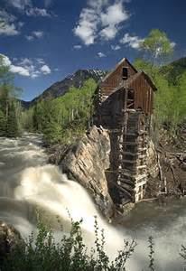 Crystal Mill Colorado Ghost Town