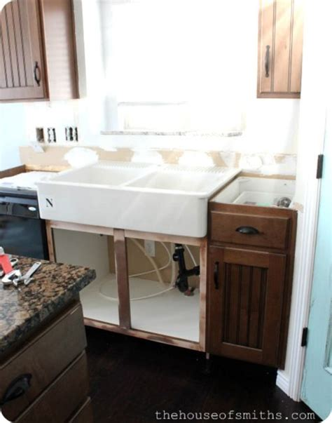 how to install a farm sink how to install farmhouse sink good to know pinterest