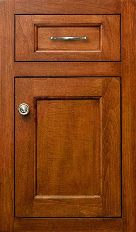 stained maple inset cabinet door styles  hardware