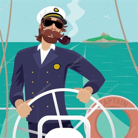 Un jeune homme en costume de marin sur un fond ensoleillé ...