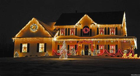 christmas lights houses near 10 weird christmas traditions from around the world cammy
