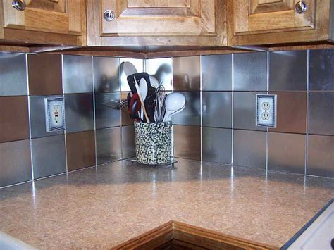 metal backsplash tiles for kitchens very elegant tin backsplash for kitchen all home decorations