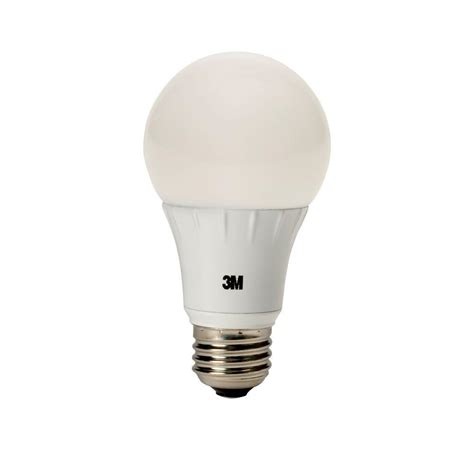 b2423 30 sp light bulb 3m 75w equivalent soft white a19 omni dimmable led light
