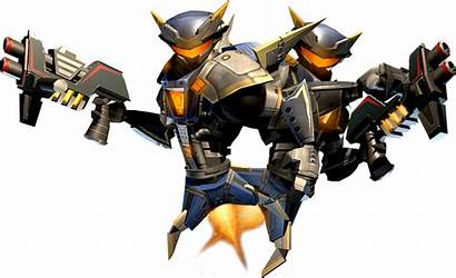 Combat Ratchet Bot Bots Clank Deadlocked Gladiator