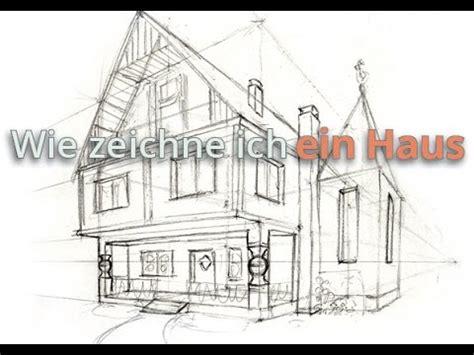 Wie Zeichne Ich Ein Haus  Vorzeichnung Youtube