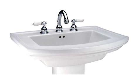 Mansfield Pedestal Sink 328 mansfield plumbing 328 4 wh barrett pedestal lavatory bowl