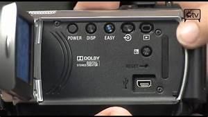 Sony Handycam Dcrsr47 Hdd Camcorder