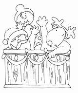 Santa Tub Digi Dearie Colored Version Would Stamps Want Coloring Dolls Gmail Send Freedeariedollsdigistamps Clipart sketch template