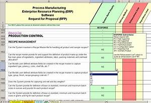 erp software evaluation selection process manufacturing With software vendor selection criteria template