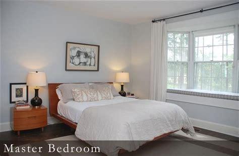 master bedroom wall color is benjamin wickham gray