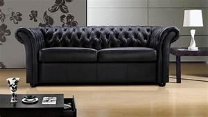 Canapé Cuir Design : photos canap convertible design cuir ~ Teatrodelosmanantiales.com Idées de Décoration