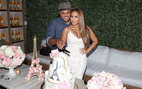 """Adrienne Bailon & Israel Houghton Are """"saving Themselves"""