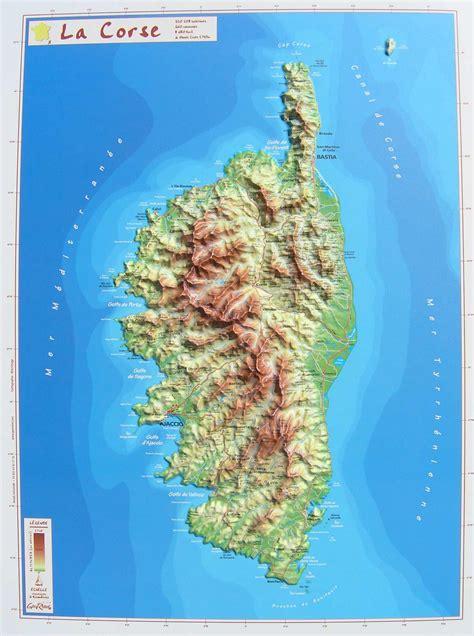 relief landkarte deutschland karte