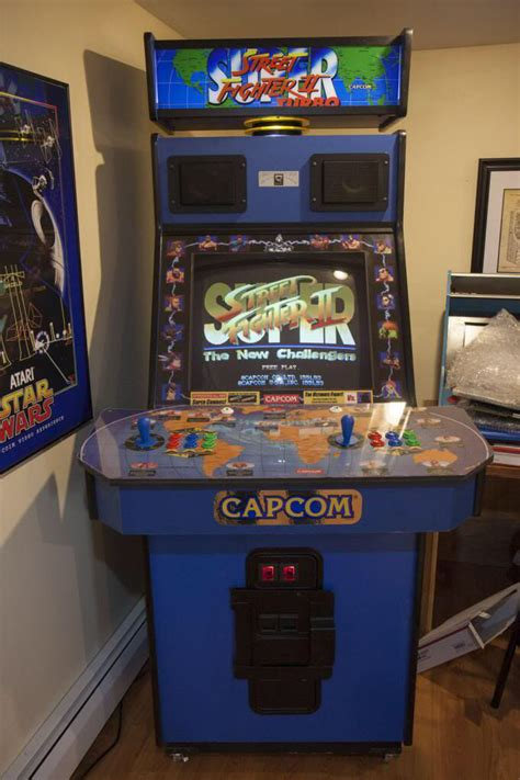fighter ii big blue cabinet arcade machine arcade fighter