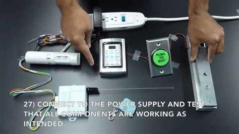 magnetic lock kit wiring