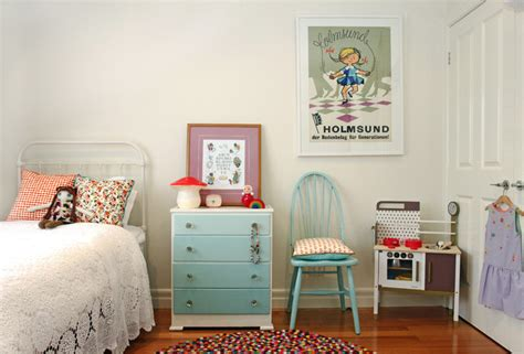 Cute And Quirky Vintage Ideas For Kids' Bedrooms