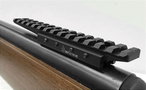 rail tactique weaver picatinny pistoletcarabine leapers utg dovetail to picatinny weaver cantilever base rail adaptor mnt dtw145
