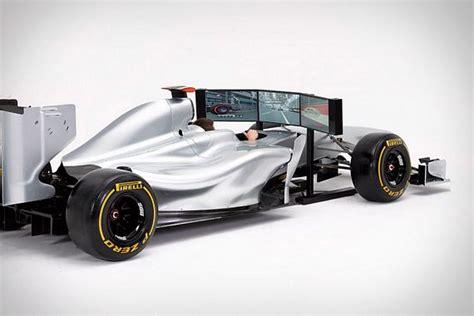 Full Size Racing Car Simulator Puts A Replica F1 Car In