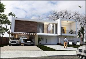 Free 3D Models HOUSES VILLAS BRAZILIAN MODERN HOUSE