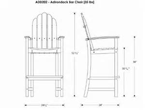 wood work tall adirondack chair plans pdf plans
