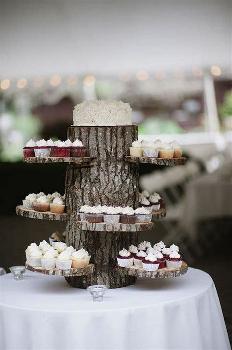 delightful wedding dessert display  table ideas