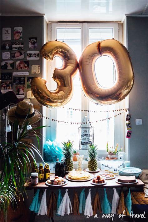 deco anniversaire 30 ans