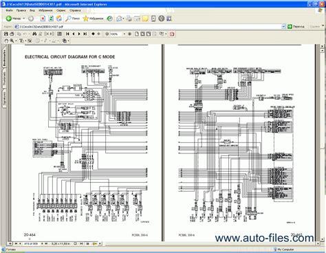 Pc78 Komatsu Wiring Diagram by Komatsu Css Service Hydraulic Excavators Pc 270 To Pc1800