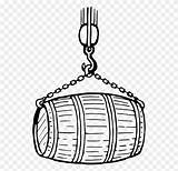 Barrel Drawing Clipart Wine Beer Computer Keg Coloring Icons sketch template