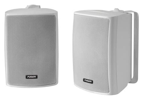 Boat Speakers Customer Care by Fusion Os 420 External Box Speaker Pair For Marine Boat